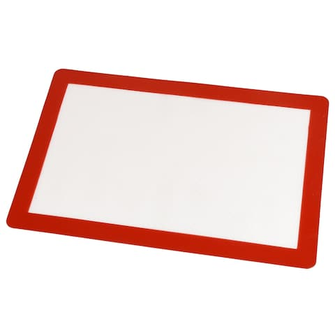 Creative Home Non-Stick, Food-Safe Silicone Fiberglass Baking Mat