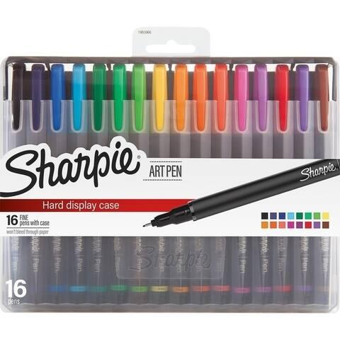 Sharpie Fine Point Art Pens - Fine Pen Point - Assorted - 16 / Pack