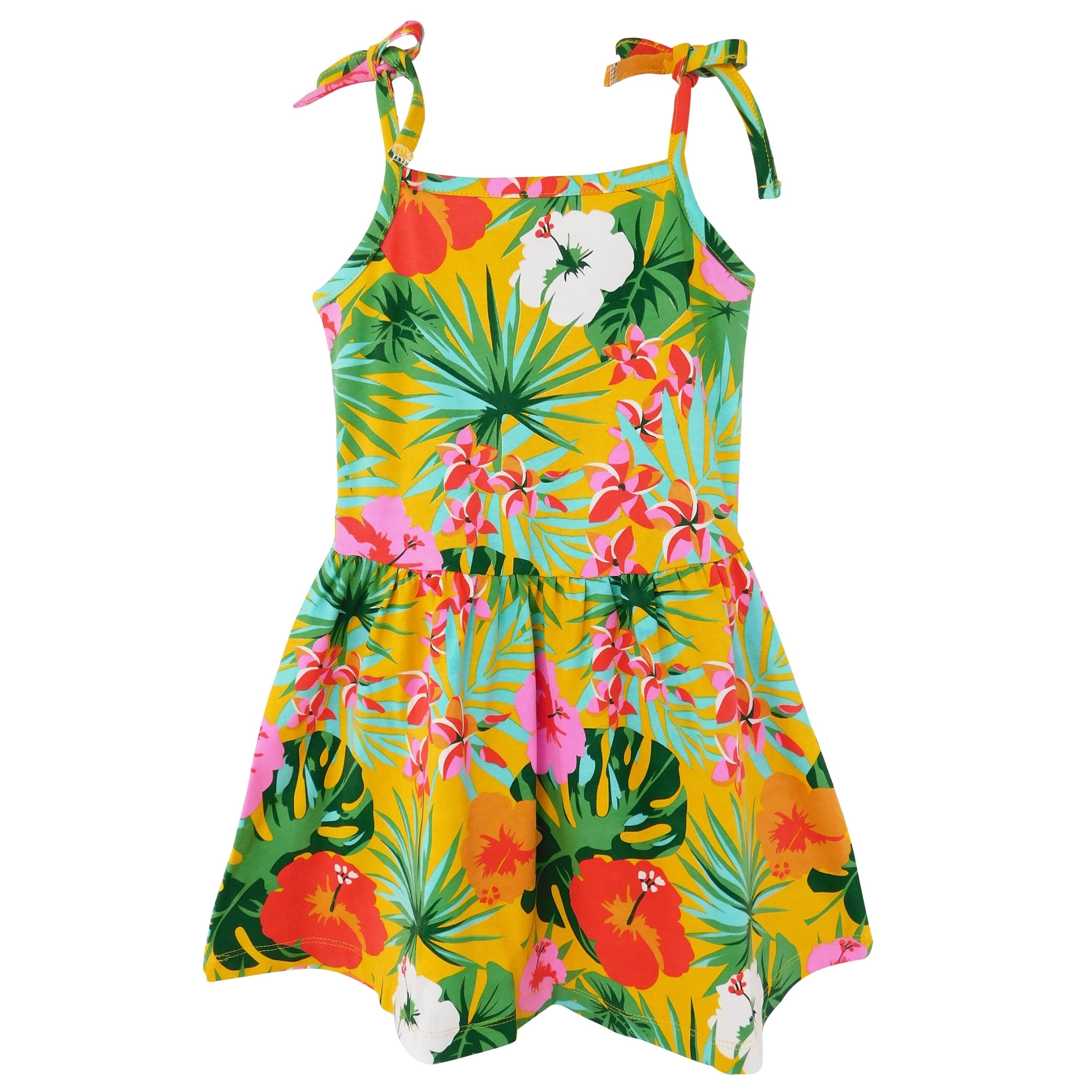 Big girl dresses summer new children/'s clothing kids flower dres ÁÁ