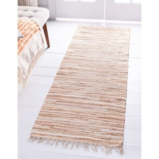 Link to Porch & Den Theresa Striped Cotton Rug Similar Items in Classic Rugs