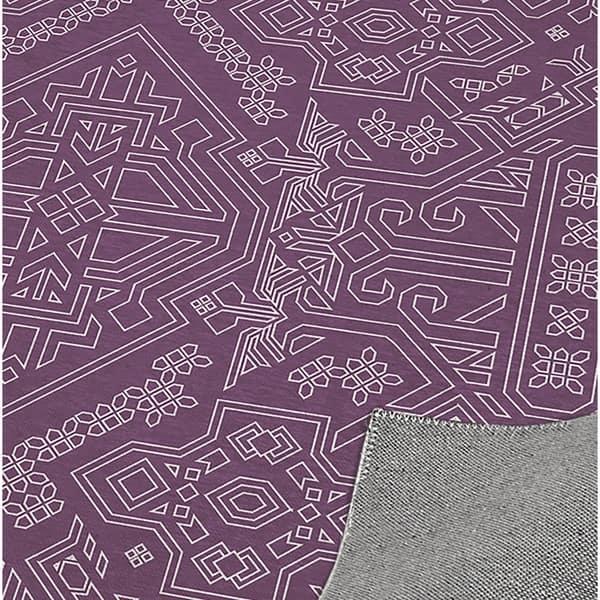 Mamluk Purple Kitchen Mat By Kavka Designs Overstock 30595613