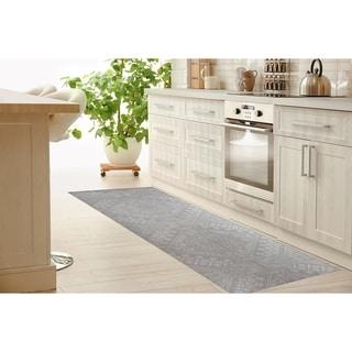 Link to BAYBAR LIGHT GREY Kitchen Mat by Kavka Designs Similar Items in Rugs