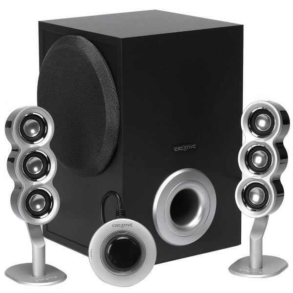 Creative I-Trigue 2.1 Speaker System - 29 W RMS - Black