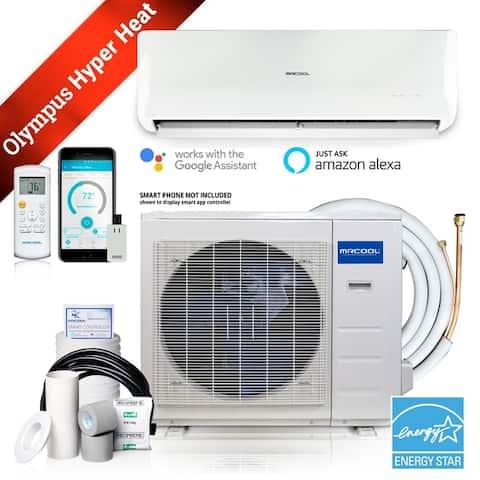MRCOOL Olympus Hyper Heat 17000-BTU 750-sq ft Single Ductless Mini Split Air Conditioner with Heater ENERGY STAR