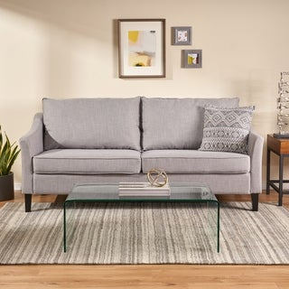 Link to Almeda Contemporary Fabric 3 Seater Sofa by Christopher Knight Home Similar Items in Sofas & Couches