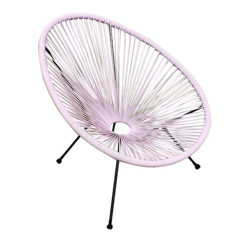 Tenir Light Pink Outdoor Patio Chairs (Set of 2) by Havenside Home