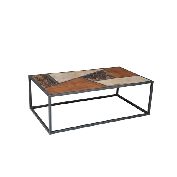 Ammerman Coffee Table - 18'' H x 55'' L x 31'' W. Opens flyout.