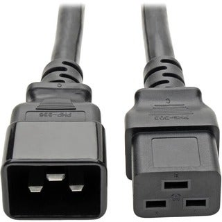 Tripp Lite 2ft Computer Power Cord Cable C19 to C20 Heavy Duty 20A 12