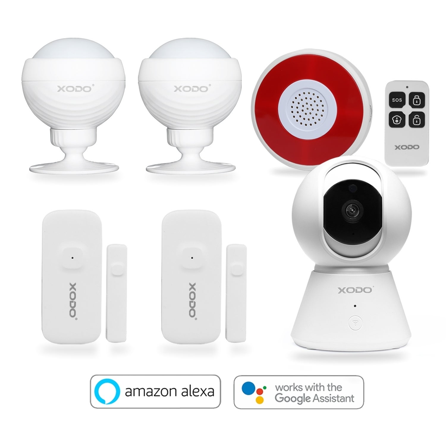 Home Security System Camera Anti Theft PIR Motion Activated Listening Device