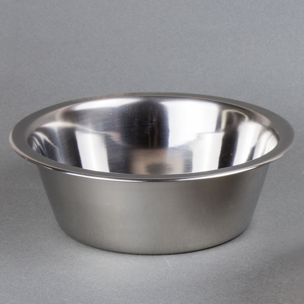 Creative Home 1 Qt. Stainless Steel Pet Bowl. Opens flyout.