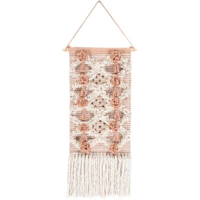 """Stefania Hand Woven 14 x 22 Sequined Wall Tapestry - 14"""" x 22"""""""