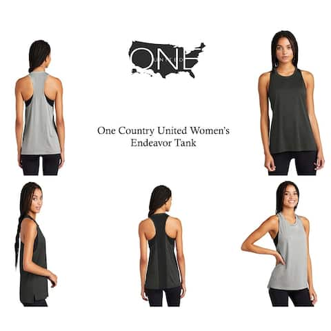 One Country United Women's Endeavor Moisture-Wicking Tank