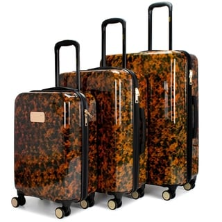 Link to BADGLEY MISCHKA Essence 3 Piece Hard Spinner Luggage Set Similar Items in Luggage Sets