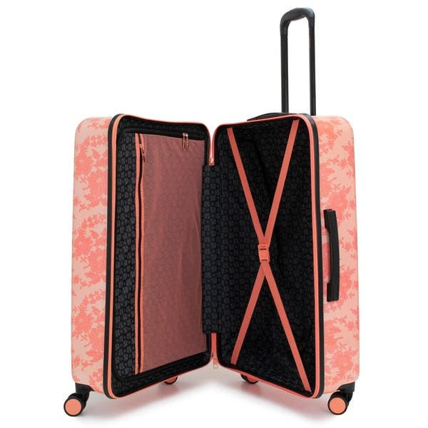 BADGLEY MISCHKA Essence 3 Piece Hard Spinner Luggage Set Herringbone