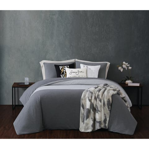 Sean John Color Block Jersey Comforter Set