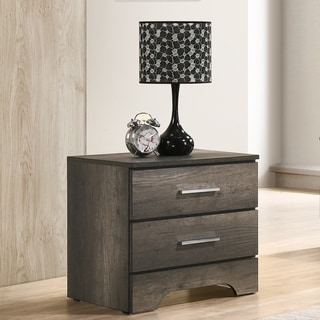 Furniture of America Leroy Contemporary 2-drawer Nightstand