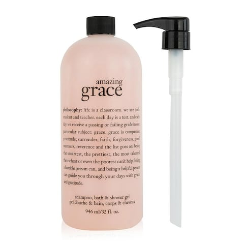 Philosophy Amazing Grace Shampoo, Bath & Shower Gel 32 oz