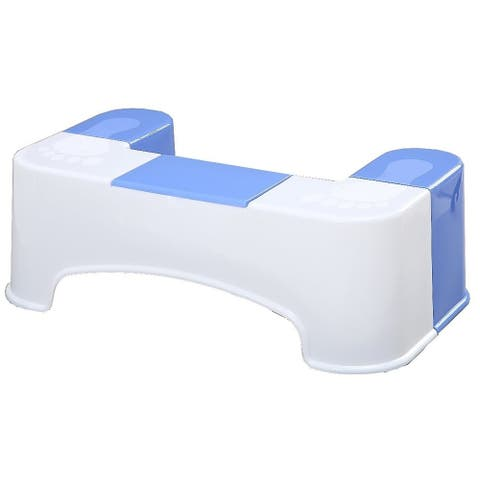Keeney SQT1 Bathroom Toilet Stool Aid with Tissue Holder