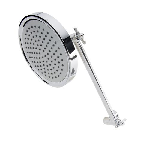 Keeney K731CP Stylewise Adjustable Arm Showerhead, Chrome - 5.80""