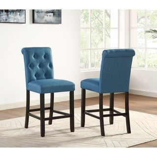 Link to Copper Grove Solitude Tufted Armless Dining Chairs (Set of 2) Similar Items in Dining Room & Bar Furniture