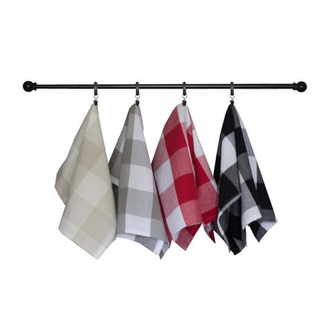 The Gray Barn Park View Large Farmhouse Check Towel (Set of 3)