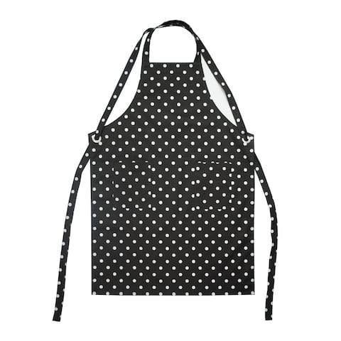 Dunroven House Polka Dot Printed Adult Apron
