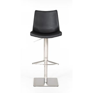 Link to Modrest Aaron Modern Black Eco-Leather Bar Stool Similar Items in Dining Room & Bar Furniture