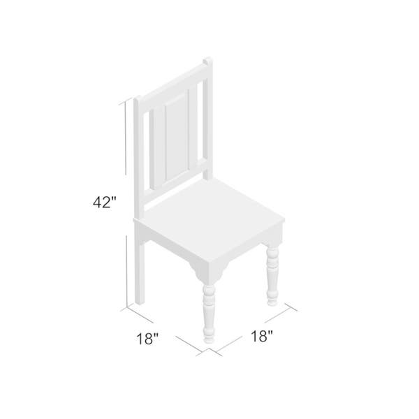 Alia Solid Wood Side Chair On Sale Overstock 30614537