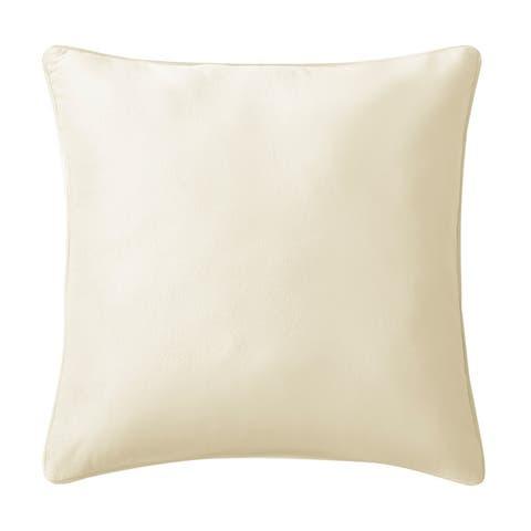 Brielle Home Super Soft Velvet Throw Pillow Collection