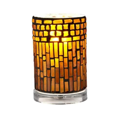 Calico Mosaic Accent Lamp