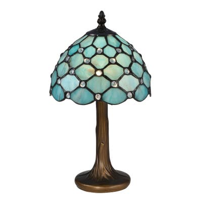 Castle Point Tiffany Accent Table Lamp
