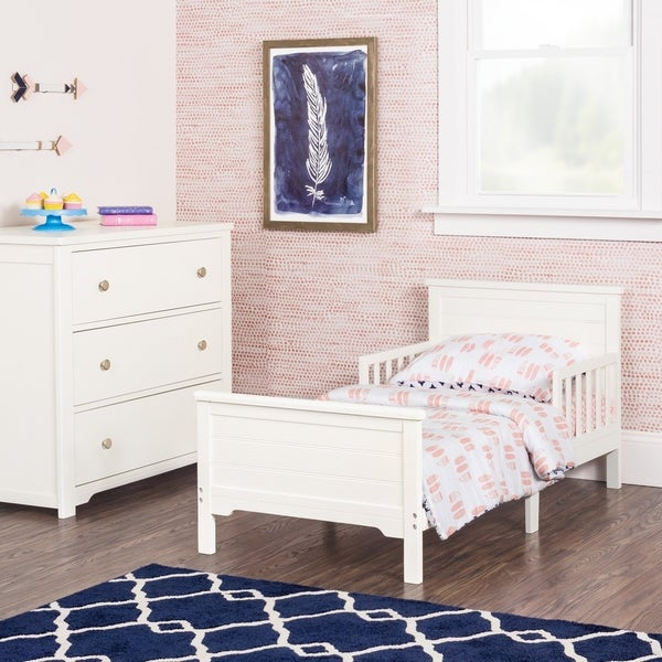 Woodland Toddler Bed with Rails by Forever Eclectic