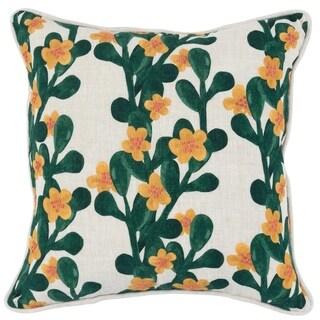 Kosas Home Ella 100% Linen 18-inch Throw Pillow