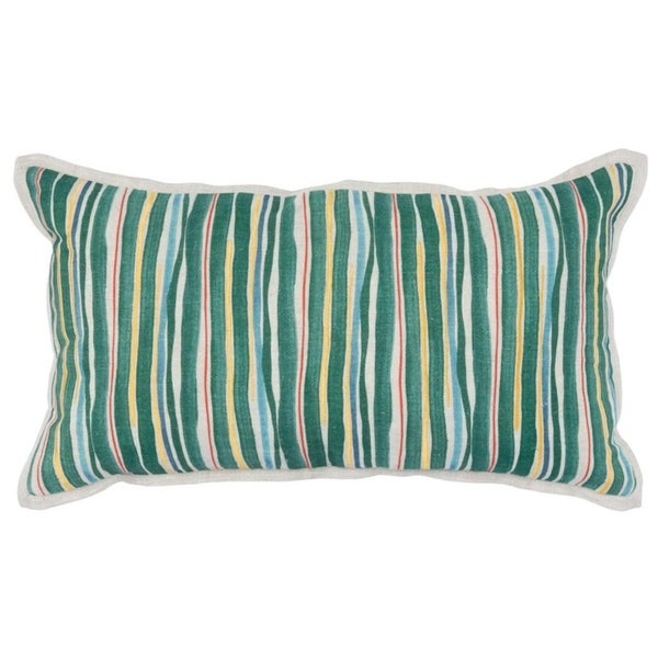 "Kosas Home Kathryn 100% Linen 14""x26"" Throw Pillow"