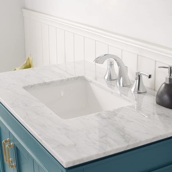 Royal Green With Carrara White Marble