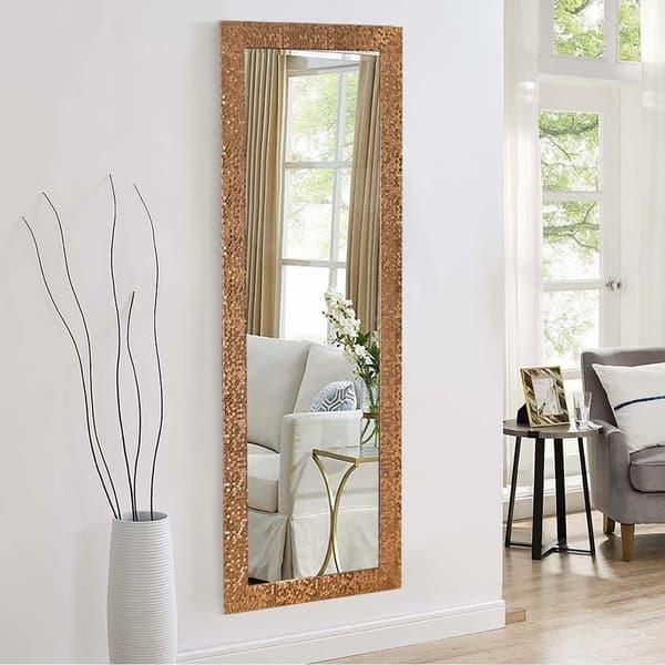 Framed Mosaic Full Length Floor Mirror