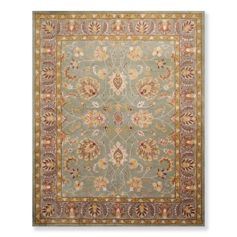 Persian Oriental Area Rug Hand Tufted Wool Arts & Crafts/ Mission Style Arts & Crafts/ Mission Style (8'x10') - 8' x 10'