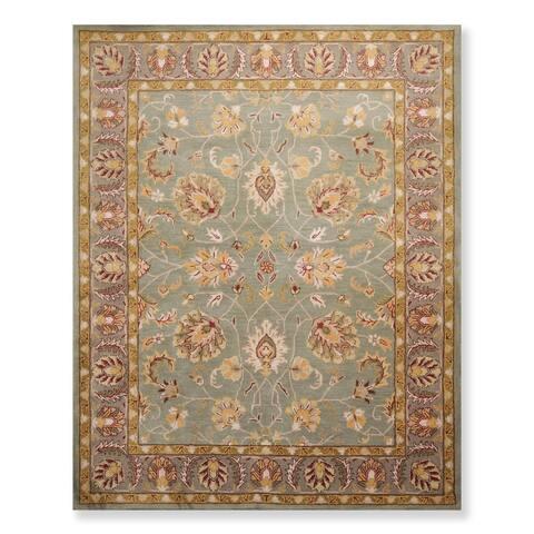 Persian Oriental Area Rug Hand Tufted Wool Arts & Crafts/ Mission Style Arts & Crafts/ Mission Style (8'x10') - 8' x 10'