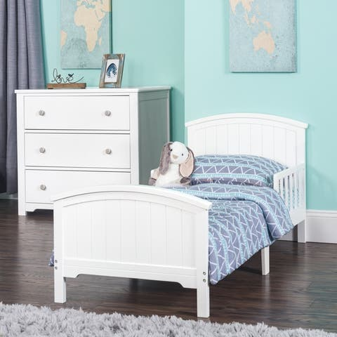 Hampton Toddler Bed with Rails by Forever Eclectic.