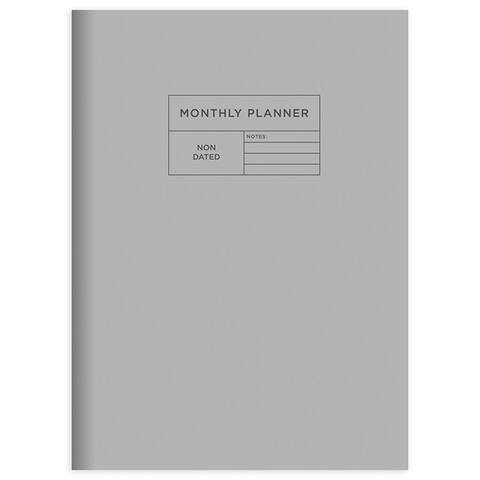 Undated Monthly Planners