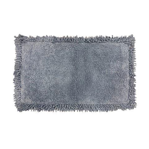 Porch & Den Strathmoor Cotton Chenille Bath Rug