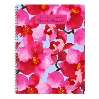 Link to Undated Large Spiral Teacher Planners Similar Items in Planners & Accessories