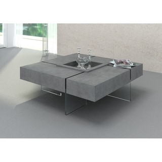Link to Modrest Shauna Modern Faux Concrete Floating Coffee Table Similar Items in Living Room Furniture