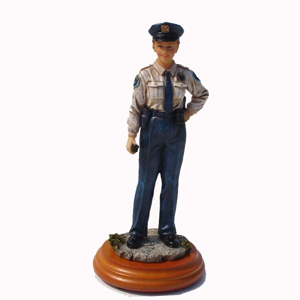 Policewoman Professional Figurine
