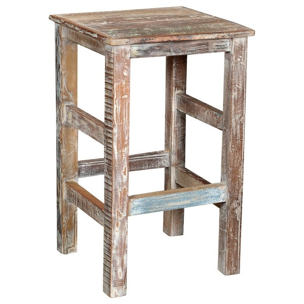 "Honoria 30"" Brown Bar Stool (As Is Item). Opens flyout."