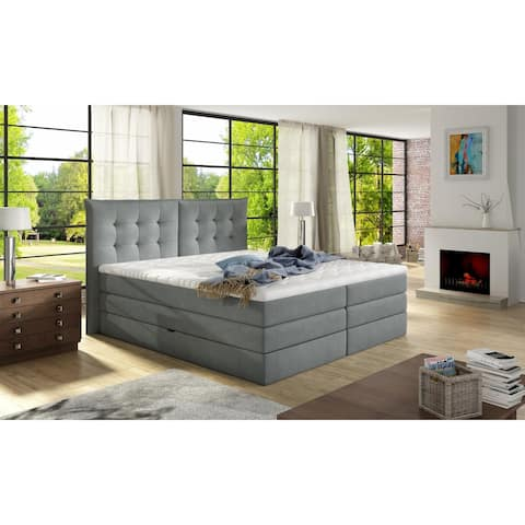 FENDY Platform Bed European King Size