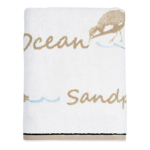 Destinations Bird Haven Cotton Bath Towel