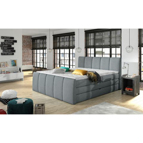 FRESCO Platform Bed European Queen Size