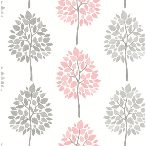 Gennadi, Tree Wallpaper, 20.5 in x 33 ft = About 56.4 square feet