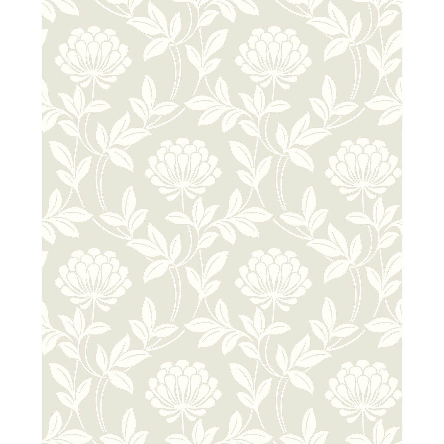 Shop Elizabeth Floral Wallpaper 20 5 In X 33 Ft About 56 4